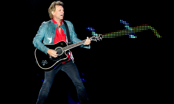 Foto: Paulo Cassio/UDR - Bon Jovi