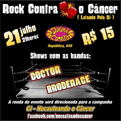 ROCK CONTRA O CANCER