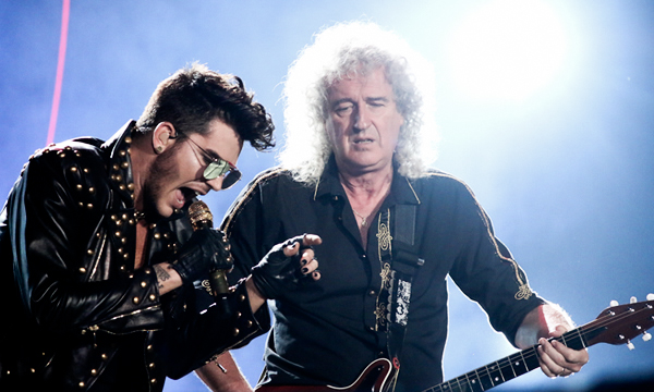 Queen+Adam Lambert (Foto: Isabela Catão/ UDR)