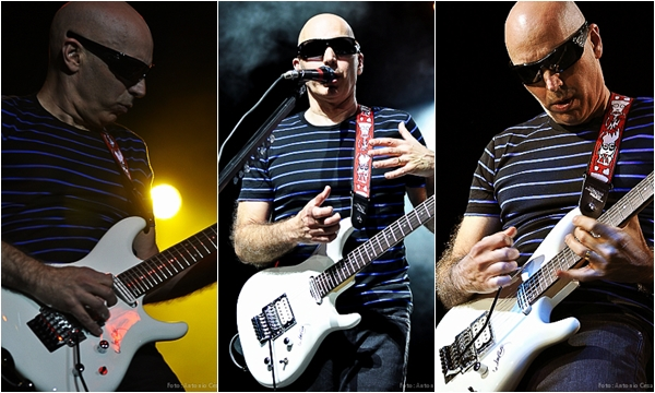 Joe Satriani - (Foto: Antonio César/Universodorock)