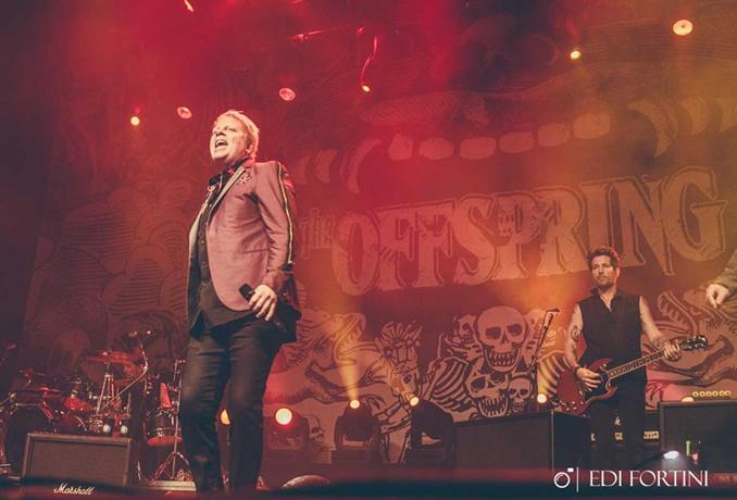 Banda The Offspring - Foto: Edi Fortini / @EdiFortini